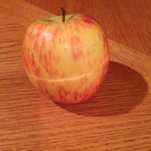 apple half whole