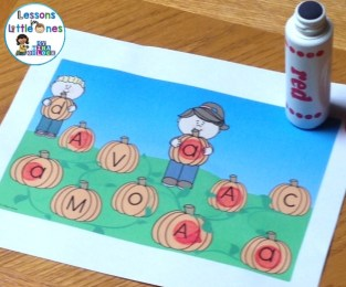 pumpkin patch letter match