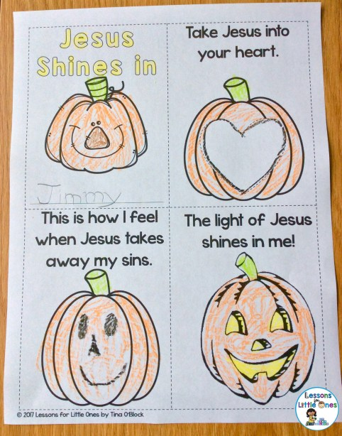 Christian pumpkin carving book