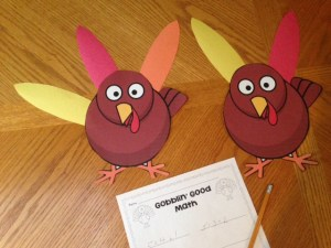 Thanksgiving turkey decomposing numbers