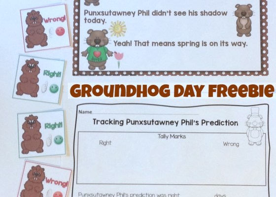 Groundhog Day Free Activity / Freebie