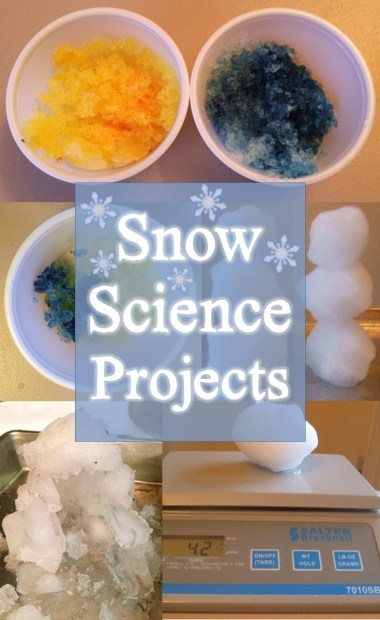 snow science experiments and projects