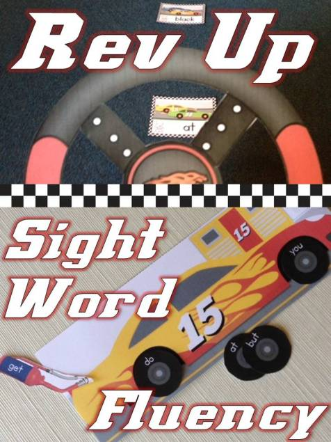 How to Rev Up Your Sight Word Fluency Practice