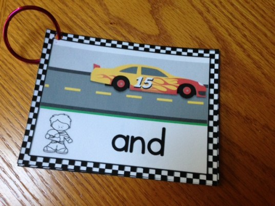rev up sight word fluency practice with racing