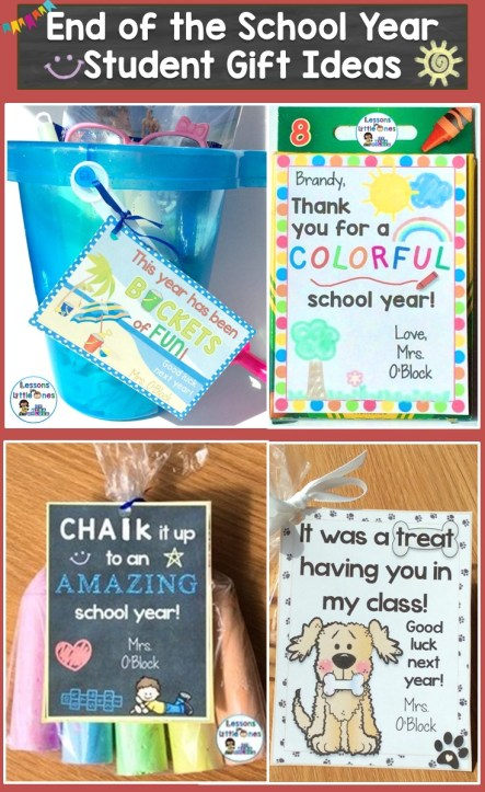 End of the School Year Student Gift Ideas