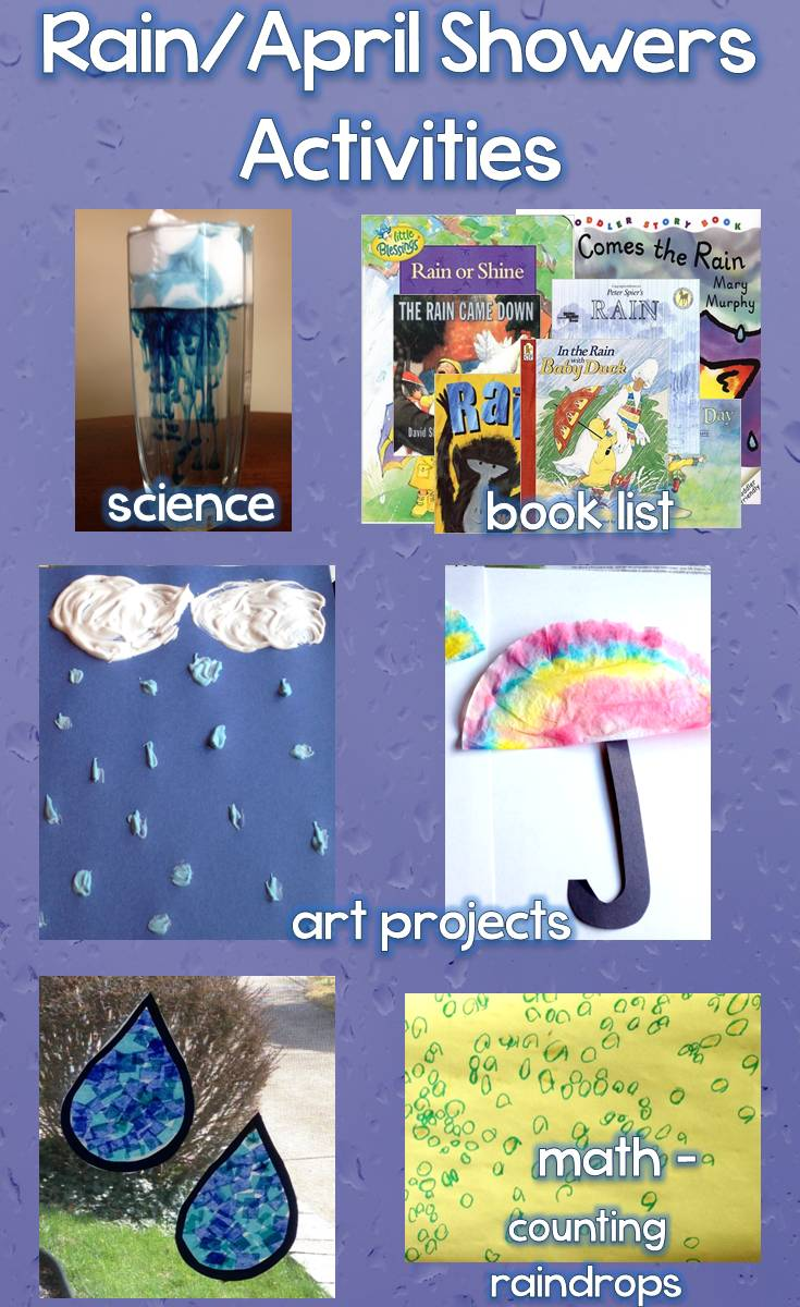 Rain April Showers Science Art Projects Book List