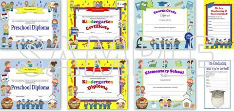 save 28% on editable diplomas & graduation invitations
