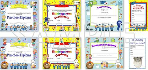 save 28% on editable diplomas & graduation invitations