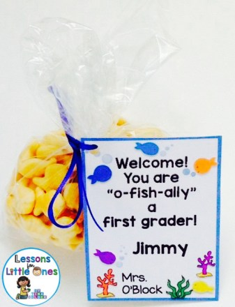 back to school gift or open house student gift
