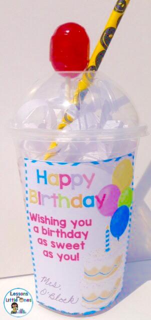 student birthday gift - sundae