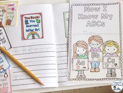 alphabet brag tags book