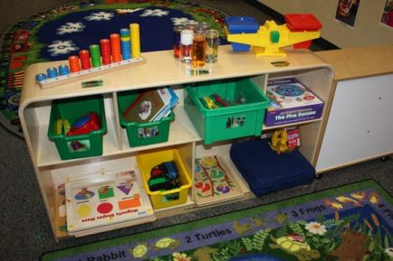setting up early childhood classroom