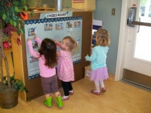 early childhood classroom centers choice board