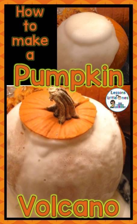 How to Make a Pumpkin Volcano