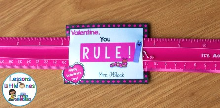Valentine, You Rule! Happy Valentine's Day gift tag