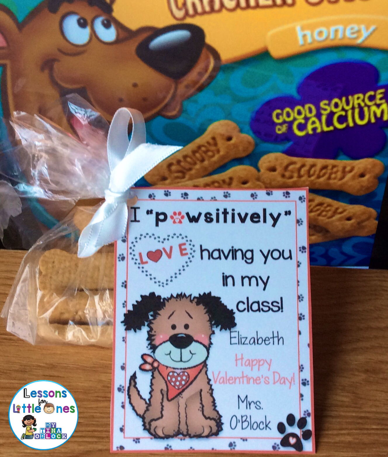 Dog Valentine's Day student gifts