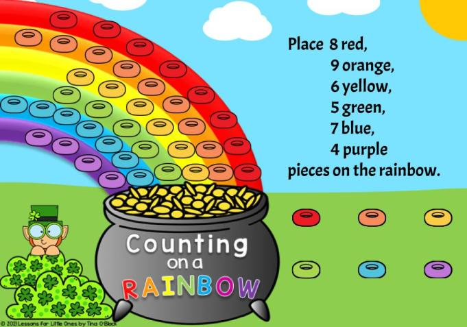 Counting on a Rainbow Digital Activity Answer Key