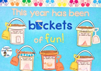 end of the school year bulletin board, classroom display