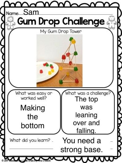 gum drop challenge page
