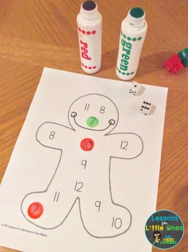 Christmas classroom game