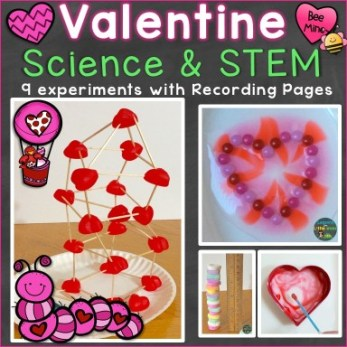 Valentine Science Experiments and STEM
