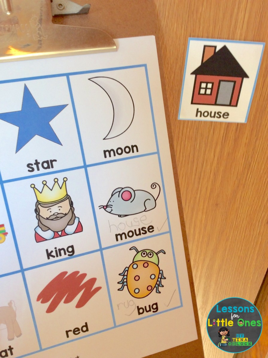 Rhyming Words Games, Books, Activities, & Free Rhyming Word Picture Cards