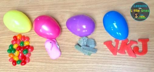 Easter egg sink or float