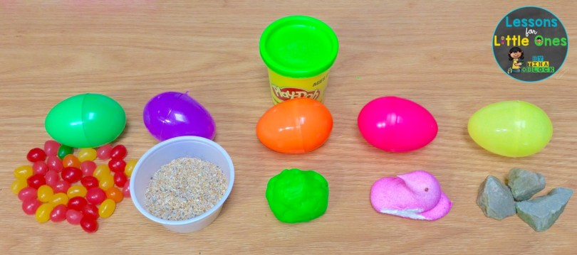 Easter egg science experiment weight and mass