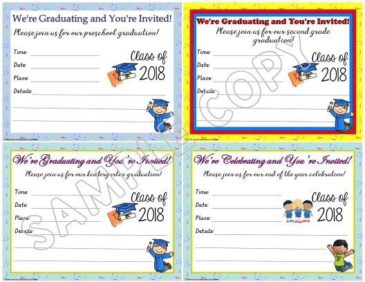 editable christian graduation invitations
