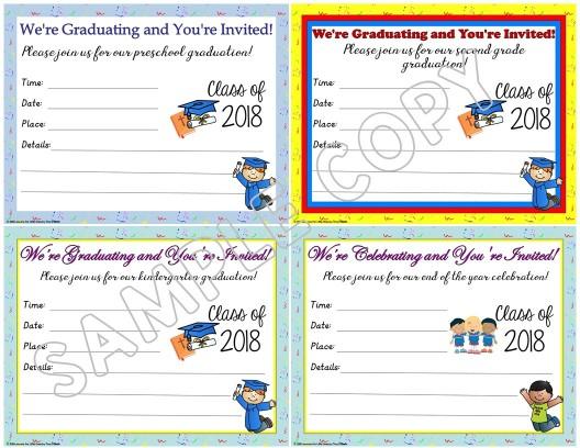 editable christian graduation invitations