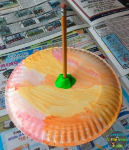 paper plate sundial experiment