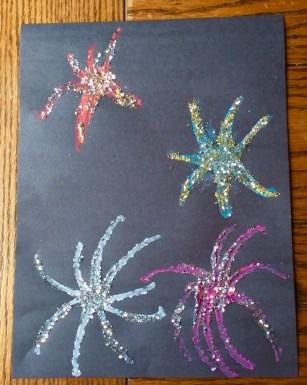 fireworks craft for kids