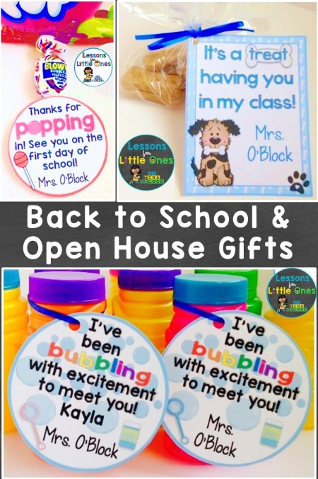 back to school & open house/meet the teacher student gift