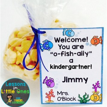back to school student gift beach theme