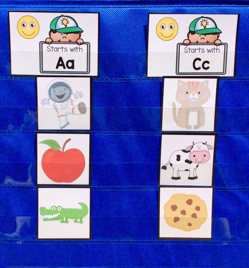 letter sound sorting activity