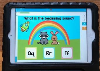 alphabet sounds boom cards