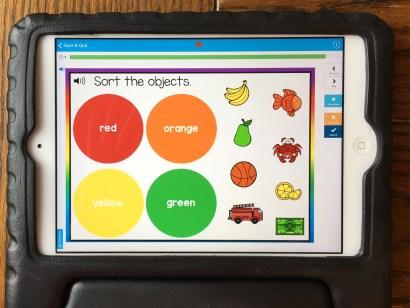 color recognition digital Boom Cards