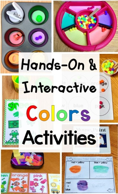 Colors activities color recognition color words