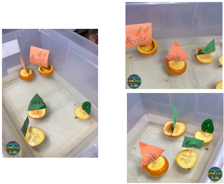 pumpkin boats STEM activity