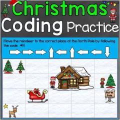 coding practice Christmas digital