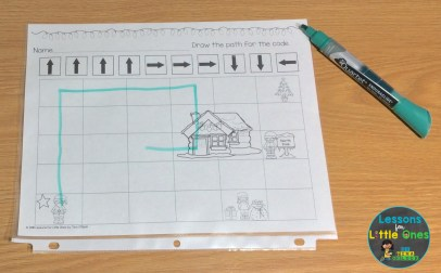computer coding sequencing practice for primary students