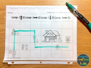 coding practice with loops printable pages