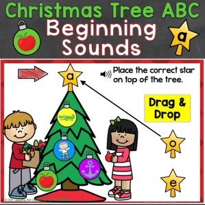 Christmas Tree Beginning Sounds