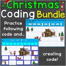 Coding Practice Christmas bundle
