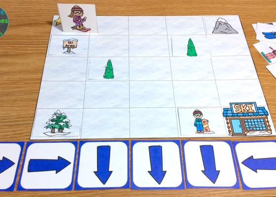 coding for kids printable game