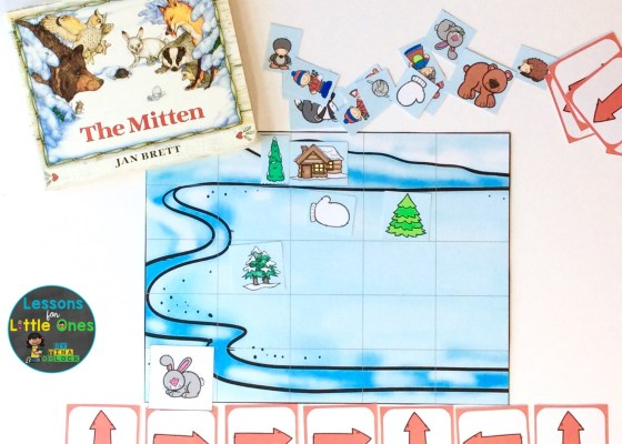 Coding Activities for The Mitten by Jan Brett