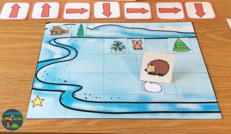 Hands-On Coding Activity for The Mitten by Jan Brett