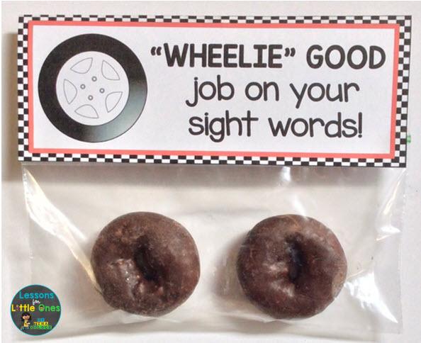 sight words treat tag