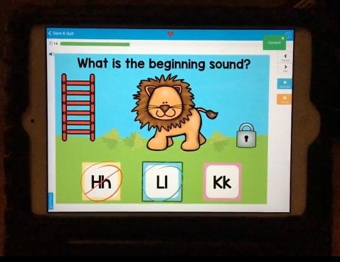 alphabet letter sounds digital center