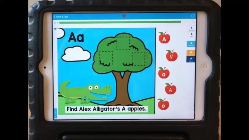 alphabet letters digital center